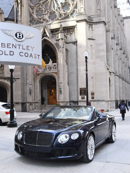 2014 Bentley Continental GT Convertible Speed