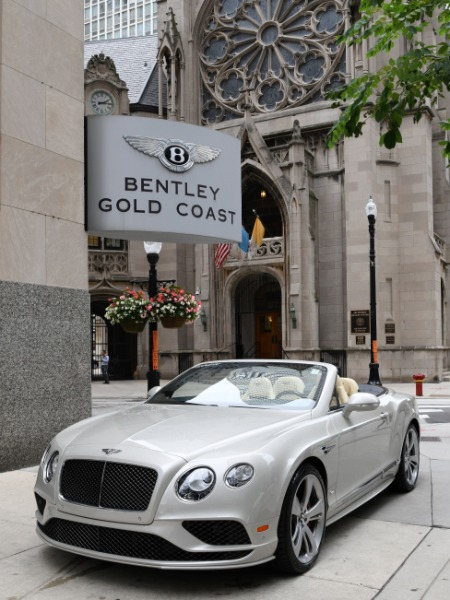 2016 Bentley Continental GT Speed Convertible GT Speed