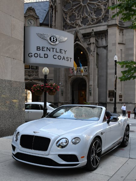 2017 Bentley Continental GTC V8 S GT V8 S