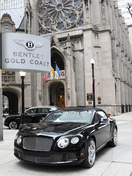 2012 Bentley Continental GTC GT